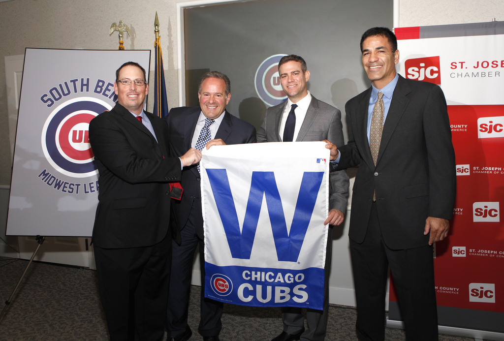 South Bend Cubs press conference