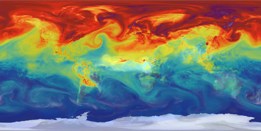 NASA-carbon-map