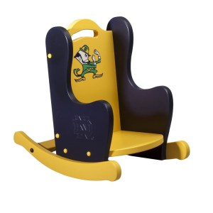 Notre Dame Leprechaun Rocking Chair
