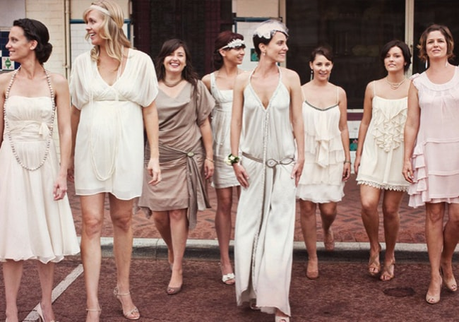 The Great Gatsby Bridesmaid Dresses
