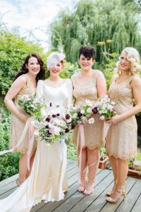 1920s Bridesmaid Dresses