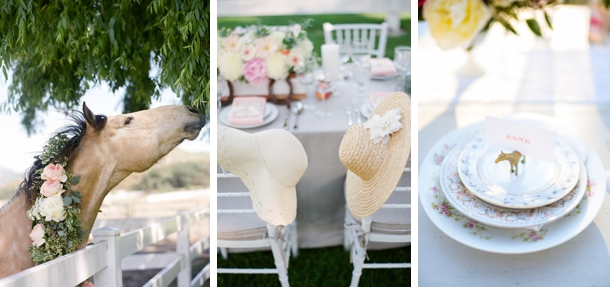 Horse Race Themed Bridal Showers