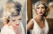 1920s gatsby glam bridal hair inspiration