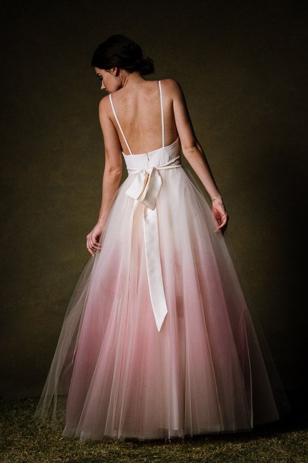 Dip Dye  Ombre Wedding Dresses