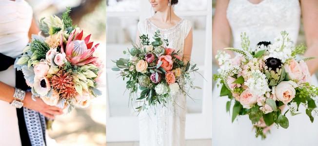 20 Gorgeous Protea Wedding Bouquets