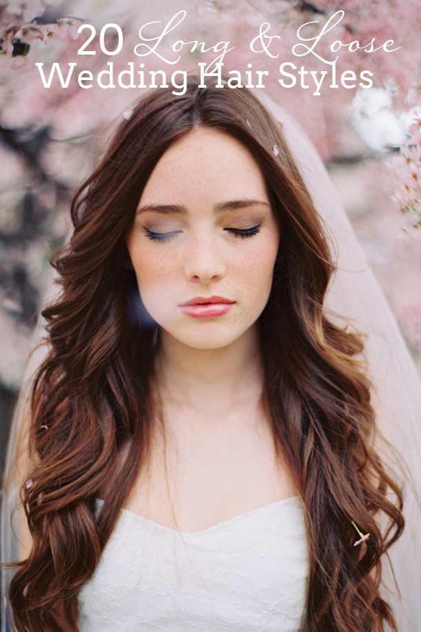 20 Long & Loose Wedding Hairstyles SouthBound Bride