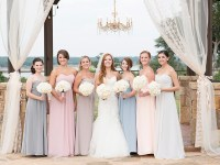 Long Mix & Match Pastel Bridesmaid Dresses | SouthBound Bride