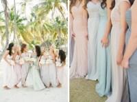Long Pastel Bridesmaid Dresses | SouthBound Bride