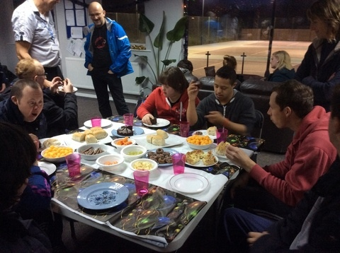 Learning disability Christmas party (5)