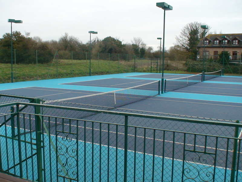 Our courts at the club