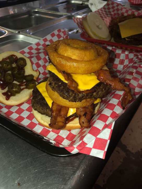 Northwest Grill Rodeo Ring Burger