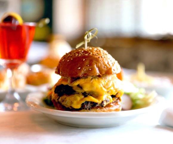 Little Jack's Double Tavern Burger