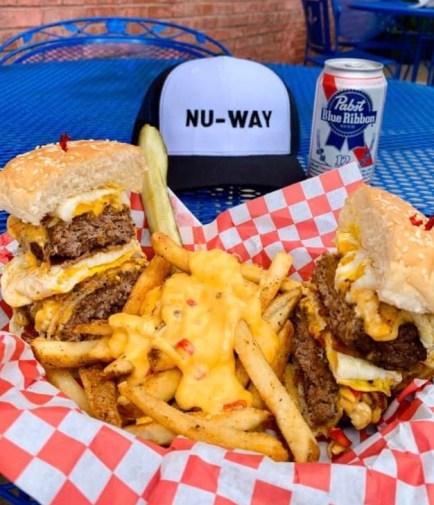 Nu-Way's Half A** Burger
