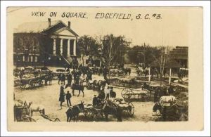 View on Square Edgefield SC