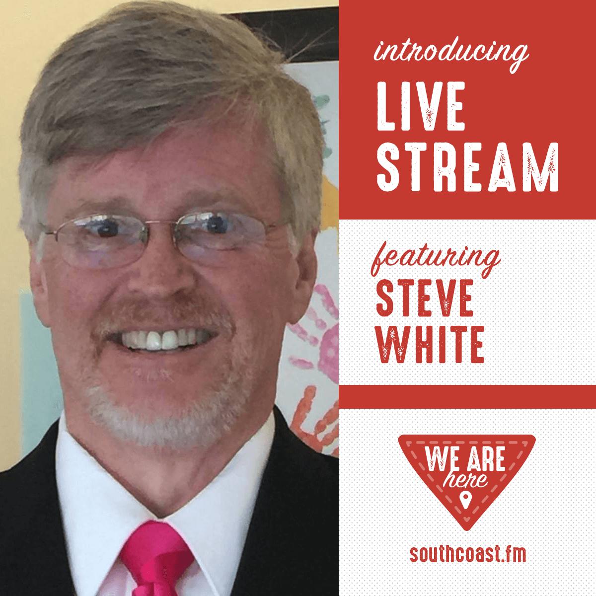 Steve White UMass Dartmouth We Are Here podcast
