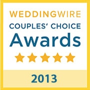 B-Sharp Entertainment is the recipient of the 2013 WeddingWire Couples' Choice Award
