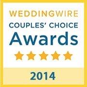 B-Sharp Entertainment is a winner of the 2014 WeddingWire Couples' Choice Award