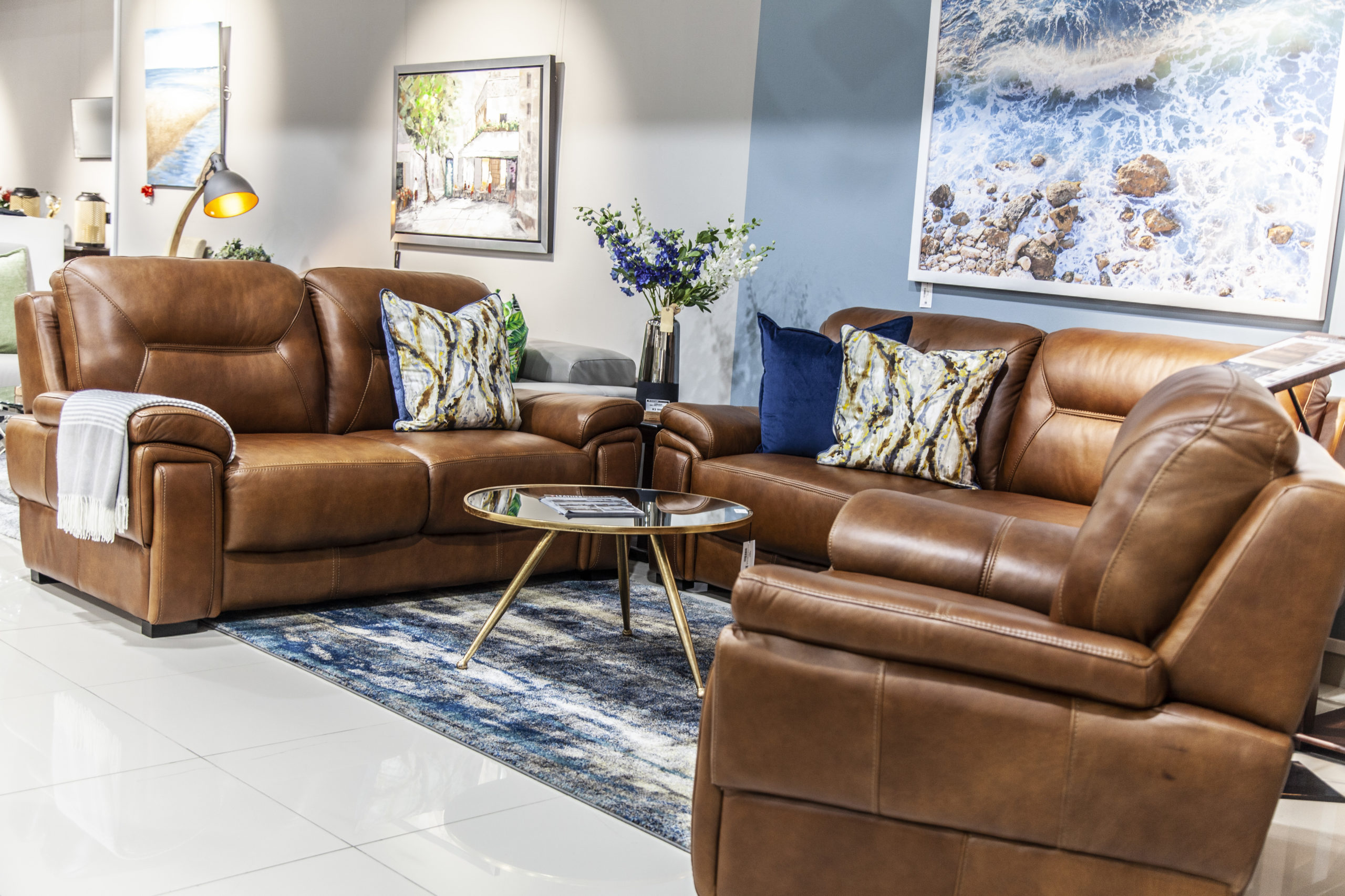 Here's how to clean leather furniture and revive it like new. Leather Gallery - Southcoast Mall