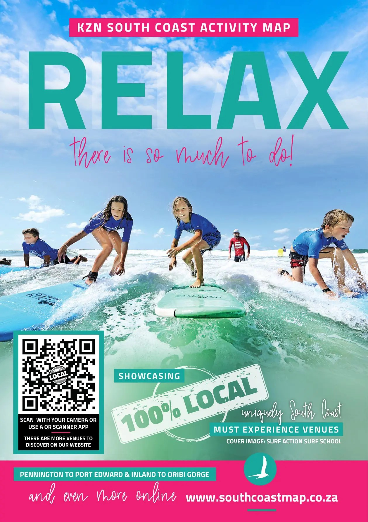 Relax South Coast Activity Map Things to do
