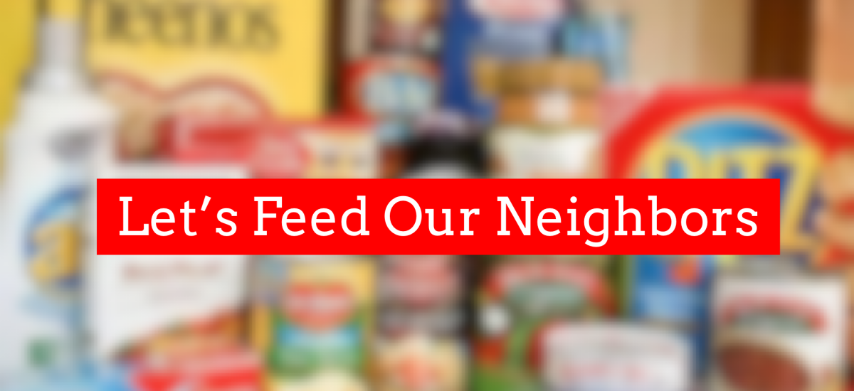 Let's Feed Our Neighbors!