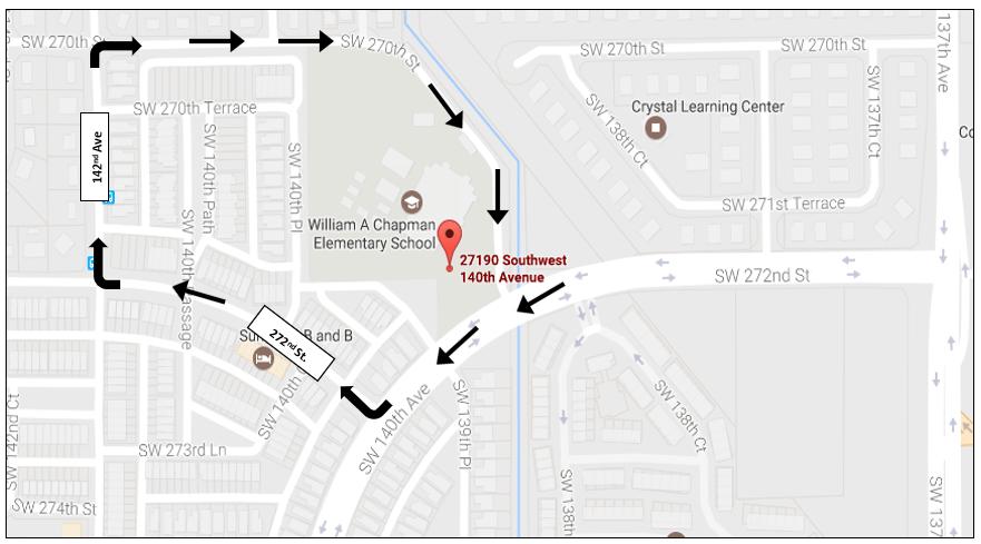 Dismissal Location Directions