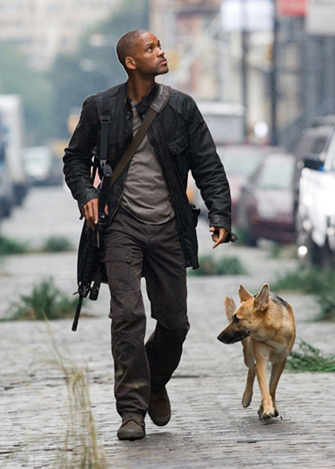 Will Smith from I Am Legend