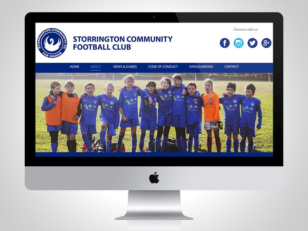 Storrington Community FC Website