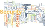 Food security background concept