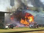 Donalsonville peanut warehouse fire