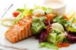 Salmon Steak-healthy eating