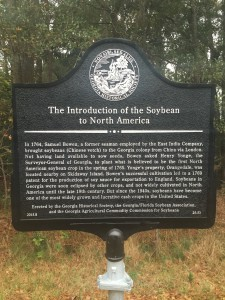 Soybean Historical Marker