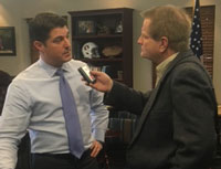 Florida Speaker Steve Crisafulli with Randall Weiseman