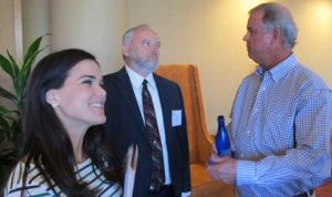Katy Sulhoff, Dr. Willam Puckett, and Frank Nalty at 2016 AACD Meeting