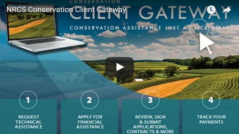 NRCS Conservation Client Gateway