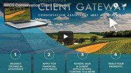 NRCS Conservation Client Gateway business