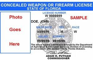 concealed weapons license permit