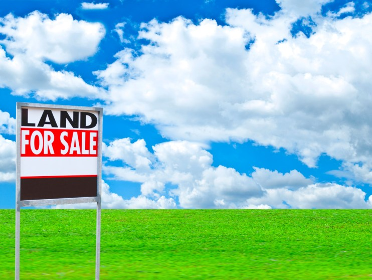 land prices
