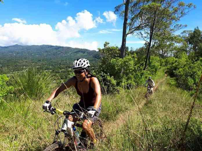 1 Day Mount Batur Crater To Ubud Bike Ride Bali Indonesia