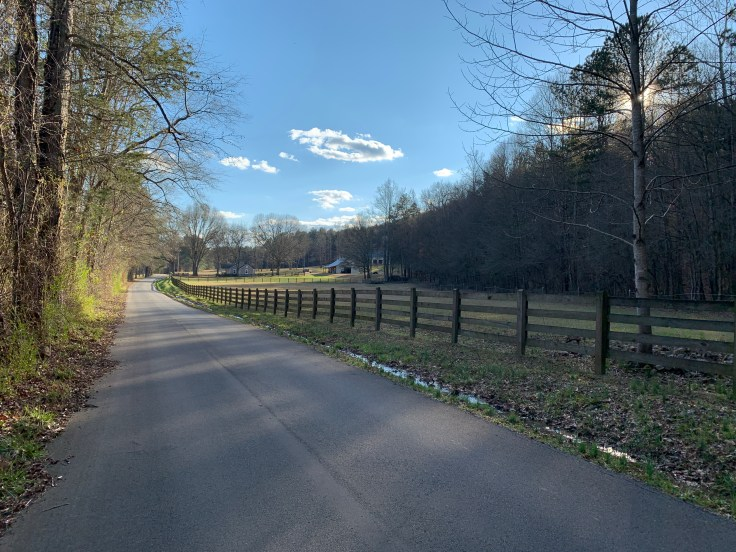 Haywood Valley Rd on the Haywood Valley Route