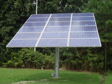 Stationary Solar Panels