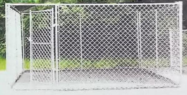 10x10x6 Single Door Dog Kennel 12 5 Gauge