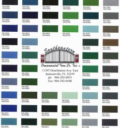 color chart [ 700 x 2820 Pixel ]