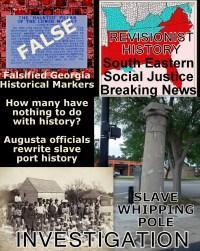 Azaleas Cant Hide Augusta, GA Slave Market Coverup ...