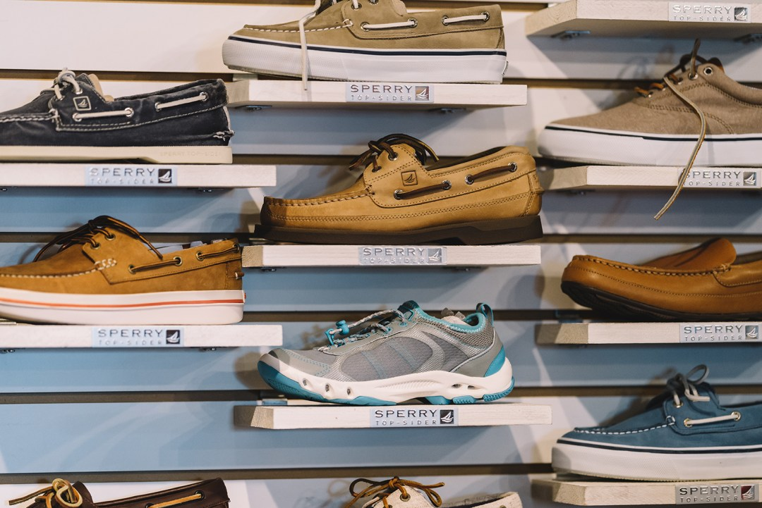 We carry a range of Sperry boat shoes.