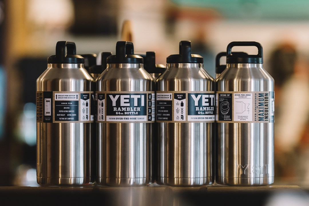 We carry a range of YETI products.