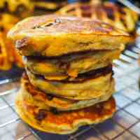 Paleo Sweet Potato Pancakes and Waffles
