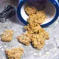 Homemade Peanut Butter Banana Dog Treats