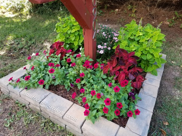 mailbox landscaping & makeover