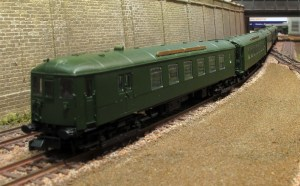 A further view with the Worthing MRC's Nine Mills layout as the back drop