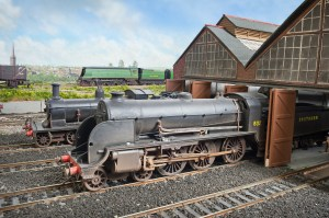 The ex LSWR shed style of Fisherton Sarum is the same as built at Basingstoke